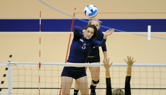 Womens Volleyball: Alyse Kolner 2012