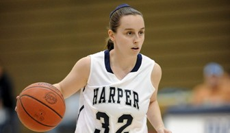 Women's Basketball: Ashley Packard 2012