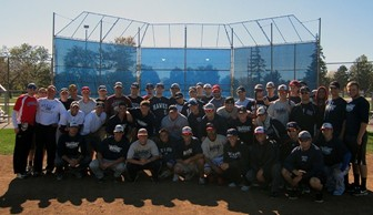 Baseball: Alumni Baseball Game 2013