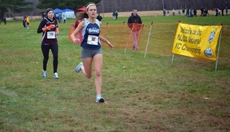 Cross Country: Stephanie Chaires Nationals 2013