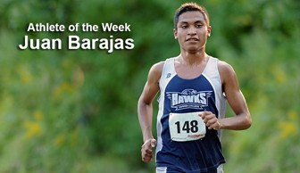 Athlete of the Week: Juan Barajas 2013