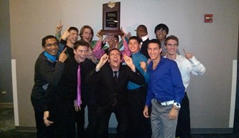 Men's Cross Country: Fall Sports Banquet 2013
