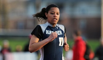 Women's track and field pic nationals Day 1