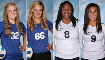 Four Volleyball Players Find New Homes