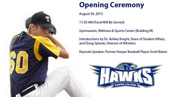 Harper Athletics Opening Ceremony-revised location
