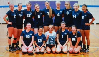 Harper Volleyball 2013: Second at COD 18th Annual Classic