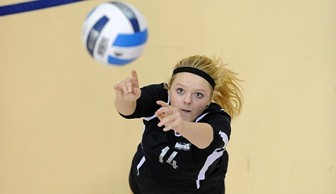 Volleyball: Claire Fluegel 2013