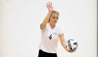 Volleyball: Morgan Peterson 2013