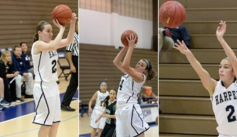 Women's Basketball: Packard/Hinderer/Payne Sophomore Night 2014