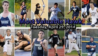 Most Valuable Hawk 2014