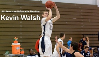 Men's Basketball: Kevin Walsh All-American Honorable Mention 2013-2014