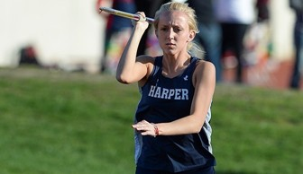 Women's Track and Field: Amanda Hagen  2014