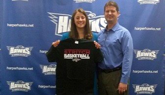 Women's Basketball: Monica Hinderer Signing with Cardinal Stritch 2014