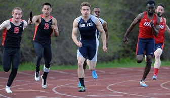Men's Track and Field: Tom Rohn and Ernest Downing 2014