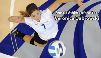 Female Athlete of the Year: Veronica Dabrowski 2013-14