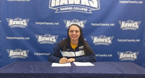 Women's Basketball: Jaclyn Stroud Recruit Signing Day 2014