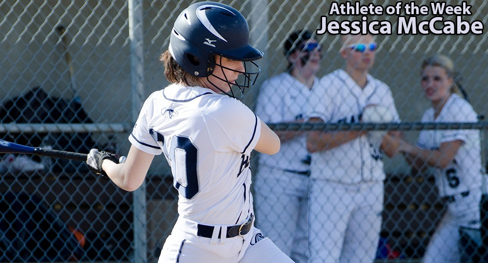 Athlete of the Week: Jessica McCabe 2016