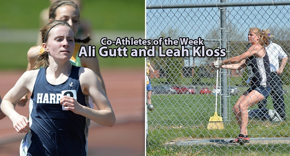 Athlete of the Week: Ali Gutt and Leah Kloss 2016
