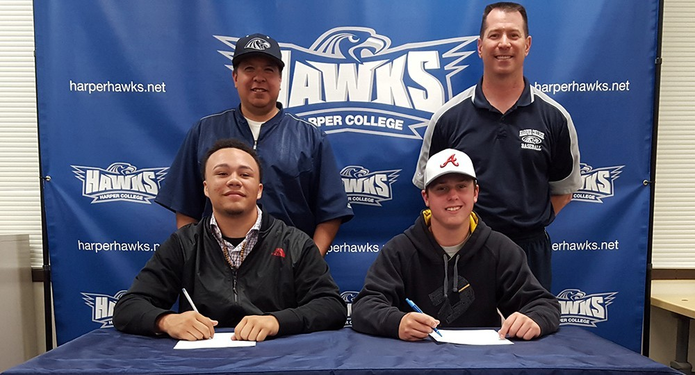 Baseball: Zach Cole and Kayson Smith Signing Day 2016